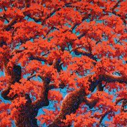 Ruby Prosperity_Soe Soe_122x76cm_Acrylic on Canvas