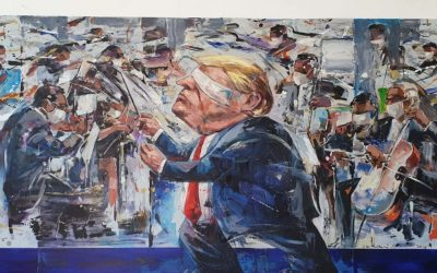 Make America Great Again 2! <br> 108x172cm <br> Mixed Medium on Canvas<br> 2020